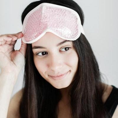 Hot + Cool Gel Bead Sleep Mask