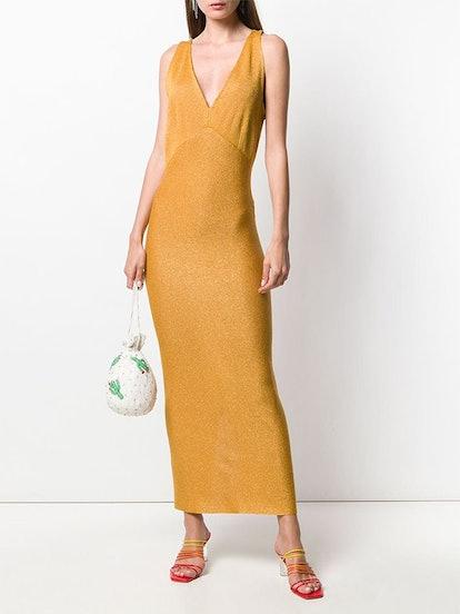 Long Glitter Dress