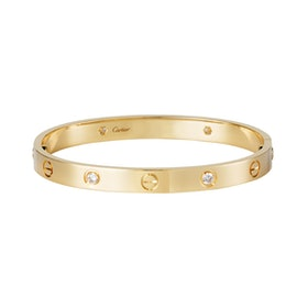 Love Bracelet, 4 Diamonds