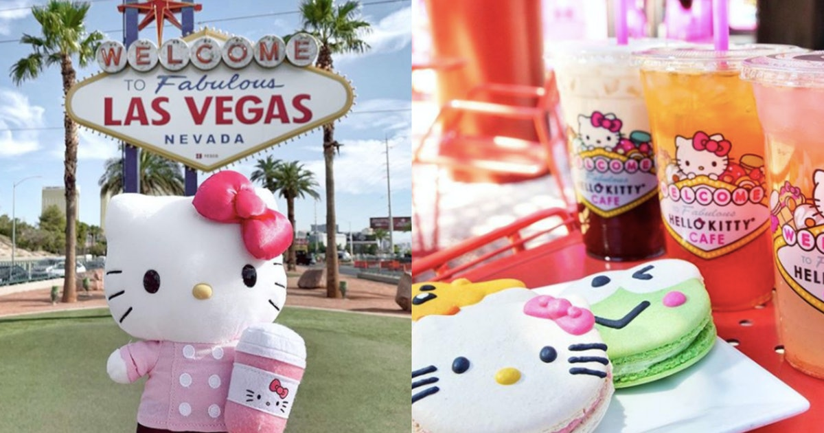 A Hello Kitty Cafe Is Opening In Las Vegas & The Menu Is Too Cute