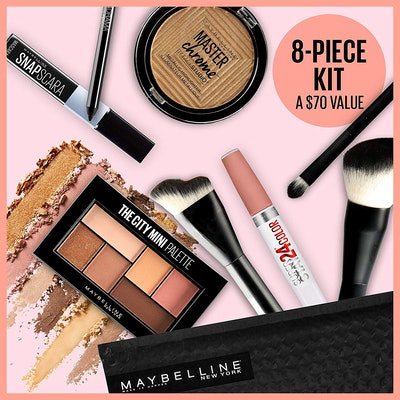 Maybelline Glow Getter 8Piece Makeup Value Set