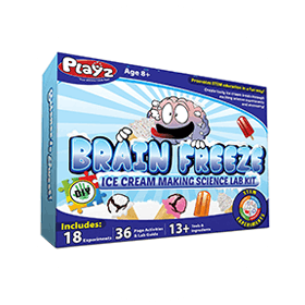 Brain Freeze Ice Cream Making Science Kit (8+)