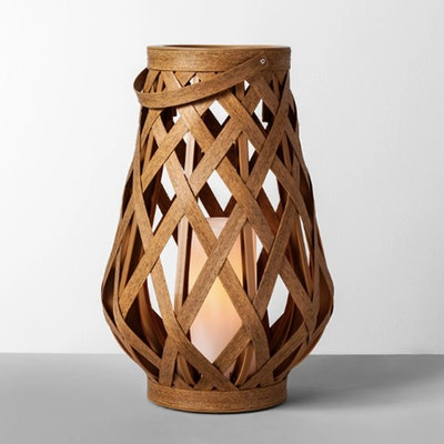 Rattan Outdoor Lantern