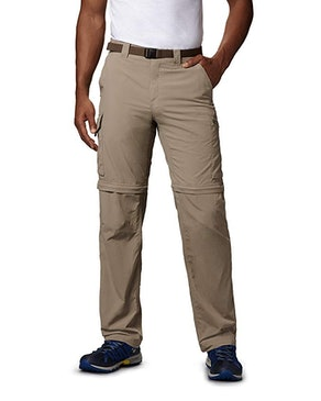 Columbia Men's Silver Ridge Convertible Pants With UPF 50