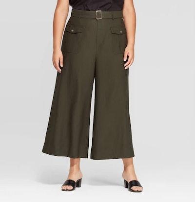 Wide Leg Utility Pants