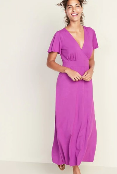 Cross-Front Jersey Maxi