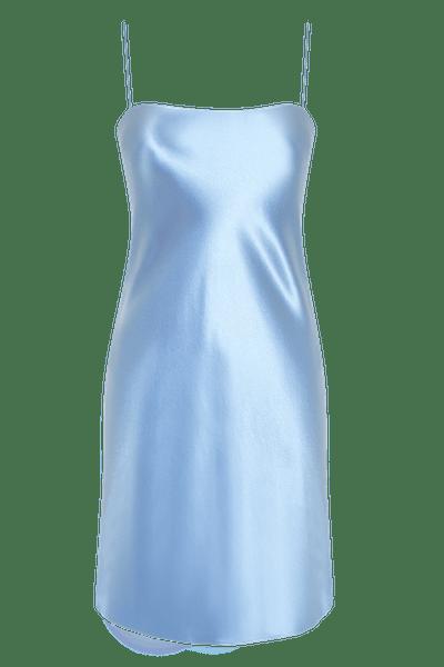 The Rachel Silk Slip Dress
