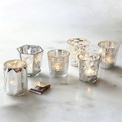 Mercury Tealights (Set Of 6)
