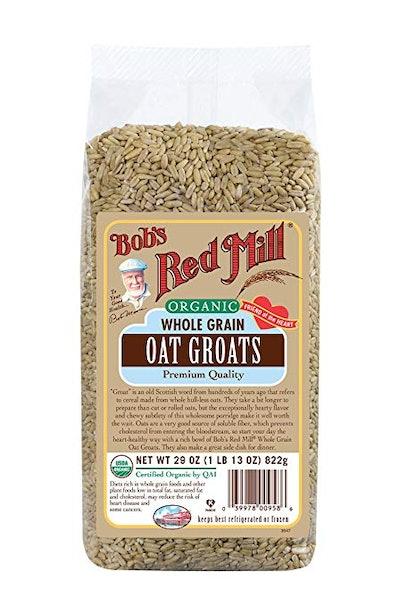 Organic Whole Grain Oat Groats