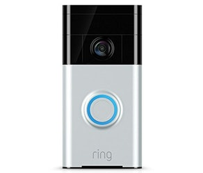 Ring Wi-Fi Enabled Video Doorbell with Echo Dot 3rd Gen