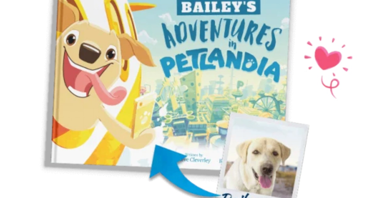 This Personalized Children's Book Makes Your Dog, Cat, Or Rabbit A Star