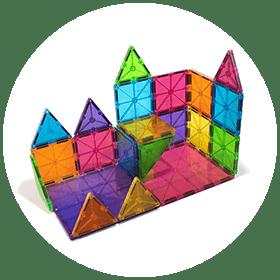 Magna-Tiles Clear Colors Set (3+)