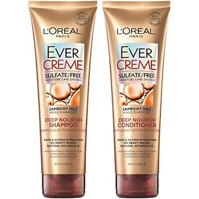 L'Oréal Paris EverCreme Deep Nourish Shampoo & Conditioner