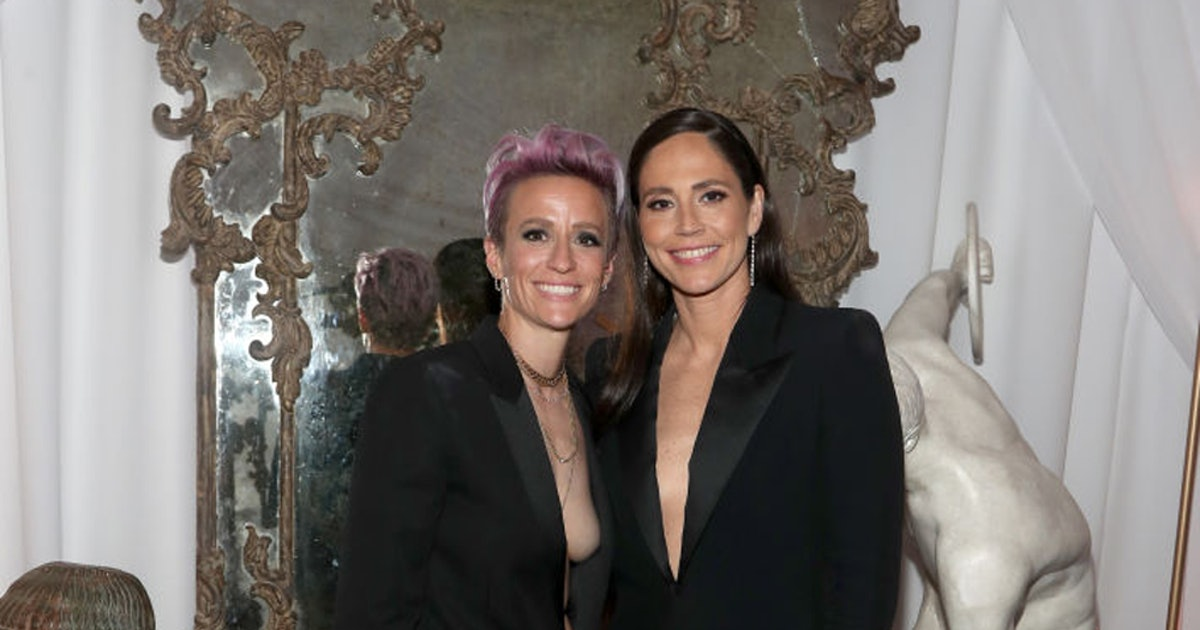 Megan Rapinoe & Sue Bird's Body Language Says Their Connection Is Rock Solid
