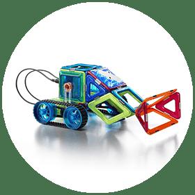 Mars Magnetic Motorized Explorer (5+)