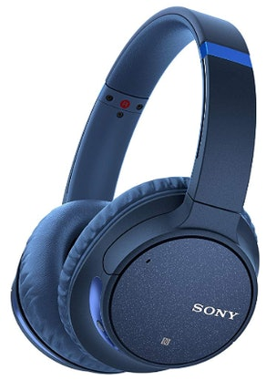 Sony Noise-Cancelling Bluetooth Headphones with Mic