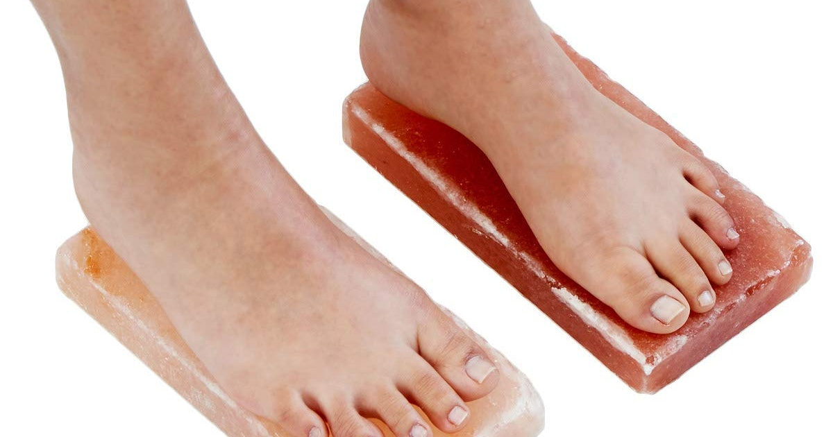 39 Weirdo Products On Amazon That Keep Selling Out (Like $20 Salt Blocks For Your Feet)
