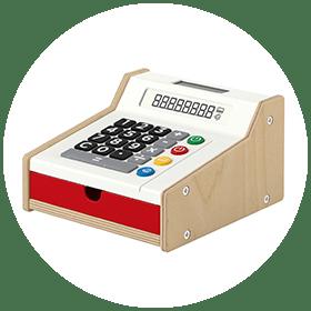 Toy Cash Register (3+)