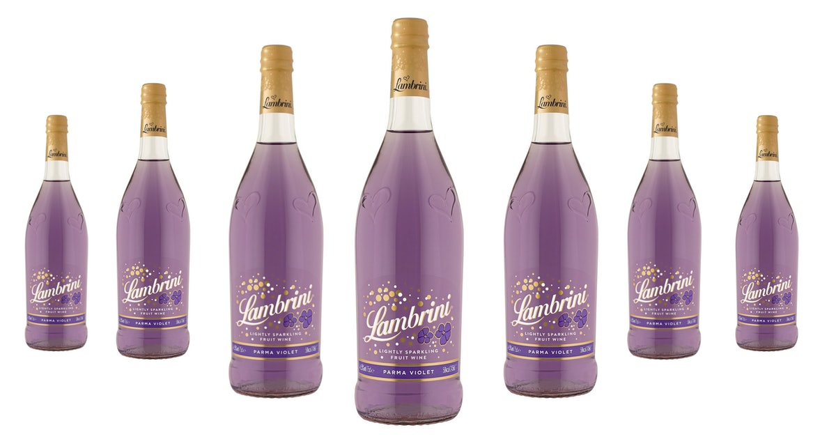 Where To Buy Parma Violet Lambrini, Because This Is *The* Drink Of Summer