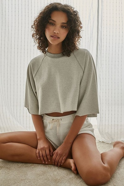 Out From Under Charlie Cutoff Cropped Sweatshirt
