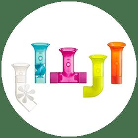 Building Bath Pipes Toy Set (1+)