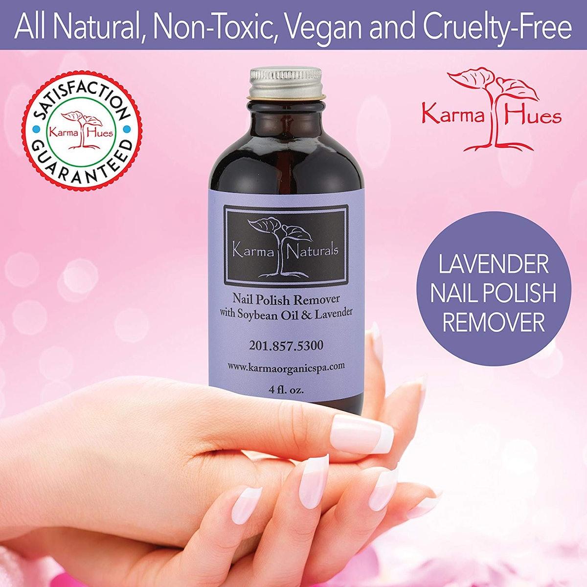 Karma Organic Lavender Nail Polish Remover