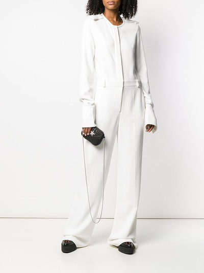 Tailored Long-Sleeved Jumpsuit