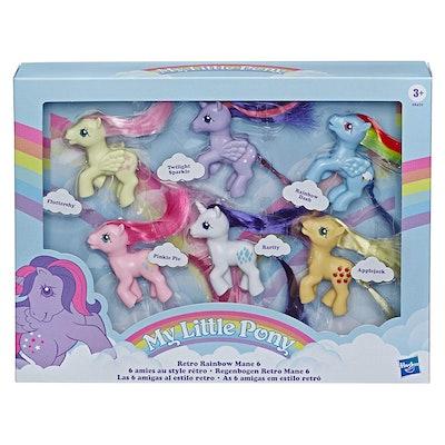 My Little Pony Retro Rainbow Mane 6