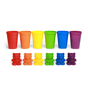 Counting Bears With Cups Sorting Toy (4+)