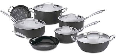 Cuisinart GG-12 Hard-Anodized 12-Piece Cookware Set