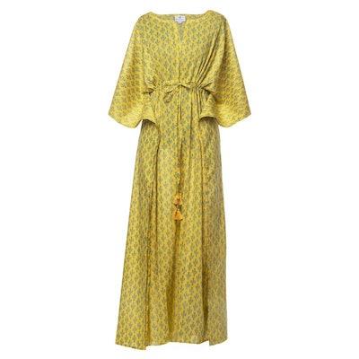 Prickly Pax Marigold Maxi Dress