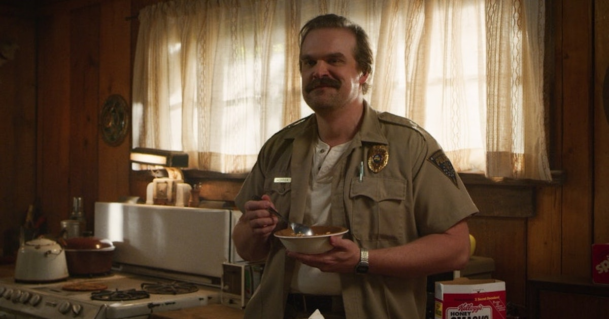 This 'Stranger Things 4' Theory About David Harbour's Instagram May Hold The Key To Hopper's Fate