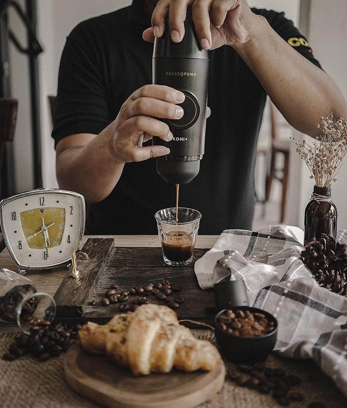 Pressopump Cordless Espresso Maker