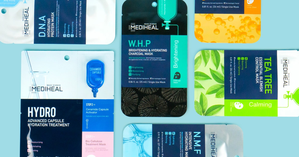 Mediheal Is Available In The U.S. For The First Time & You Can Finally Buy All These Fan-Favorite Sheet Masks