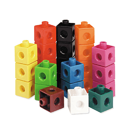 Learning Cubes Building Set (3+)
