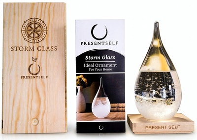 Present Self Glass Weather Forecaster