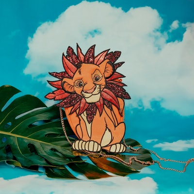 Lion King Simba Diecut Crossbody