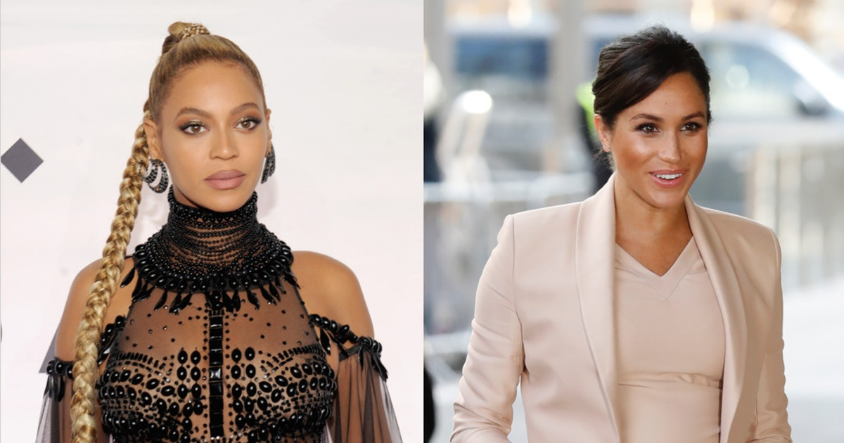 Meghan Markle & Beyonce Met At 'The Lion King' Premiere, & Twitter Is Freaking Out — VIDEO