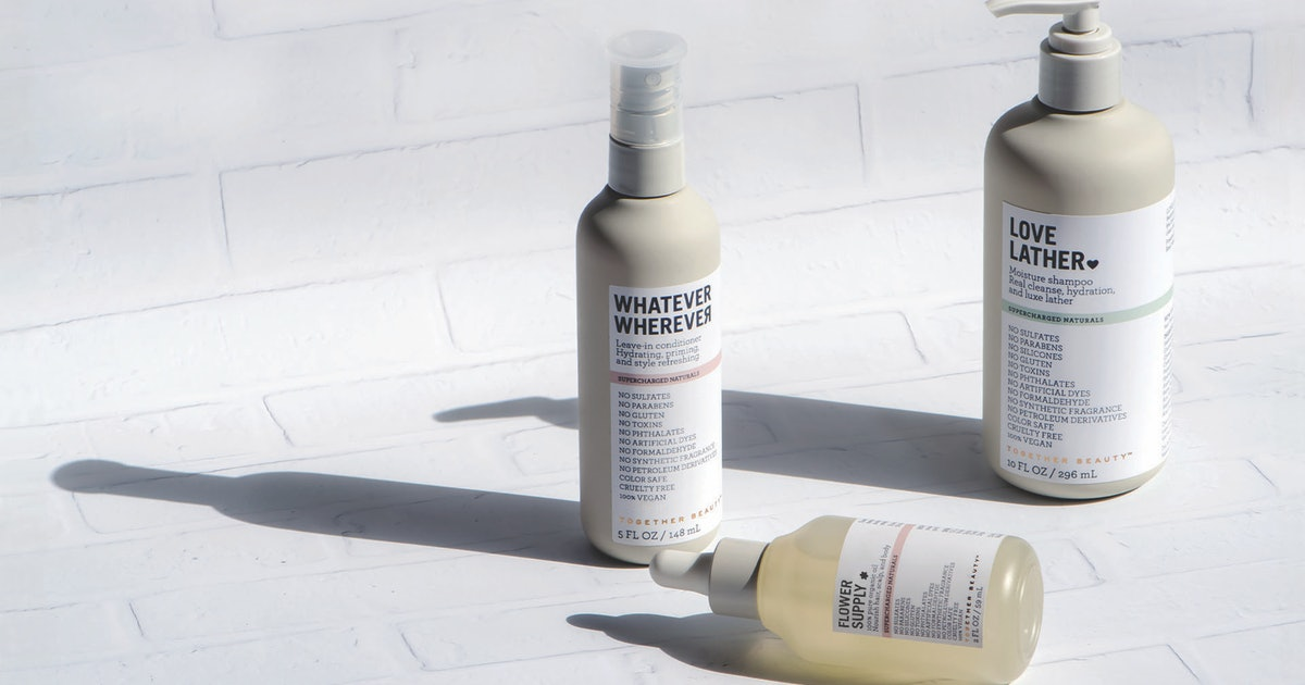 New Haircare Brand Together Beauty Uses Natural Ingredients To Achieve Professional Results (& It's Actually Affordable)