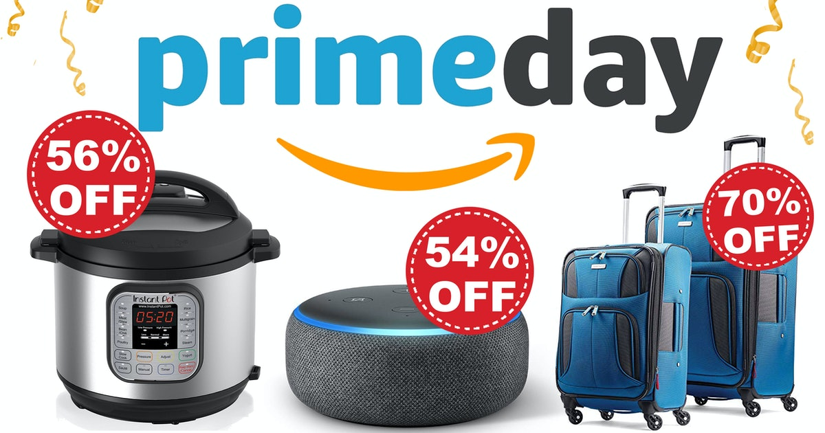 Here Are Today's Best Prime Day Deals — They're Up To 80% Off & Selling Out Fast