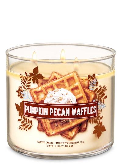 Pumpkin Pecan Waffles
