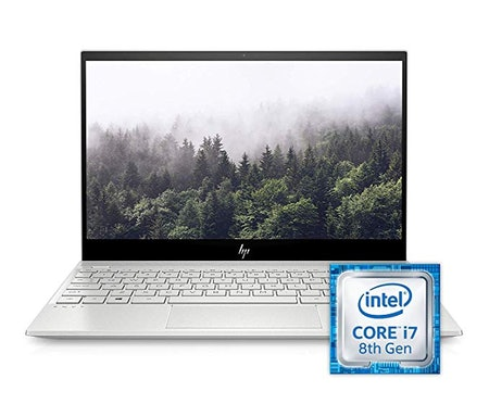 "HP ENVY 13"" Thin Laptop With Fingerprint Reader"