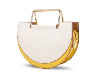 Morandi Rectangle Handle Crossbody Bag Cream