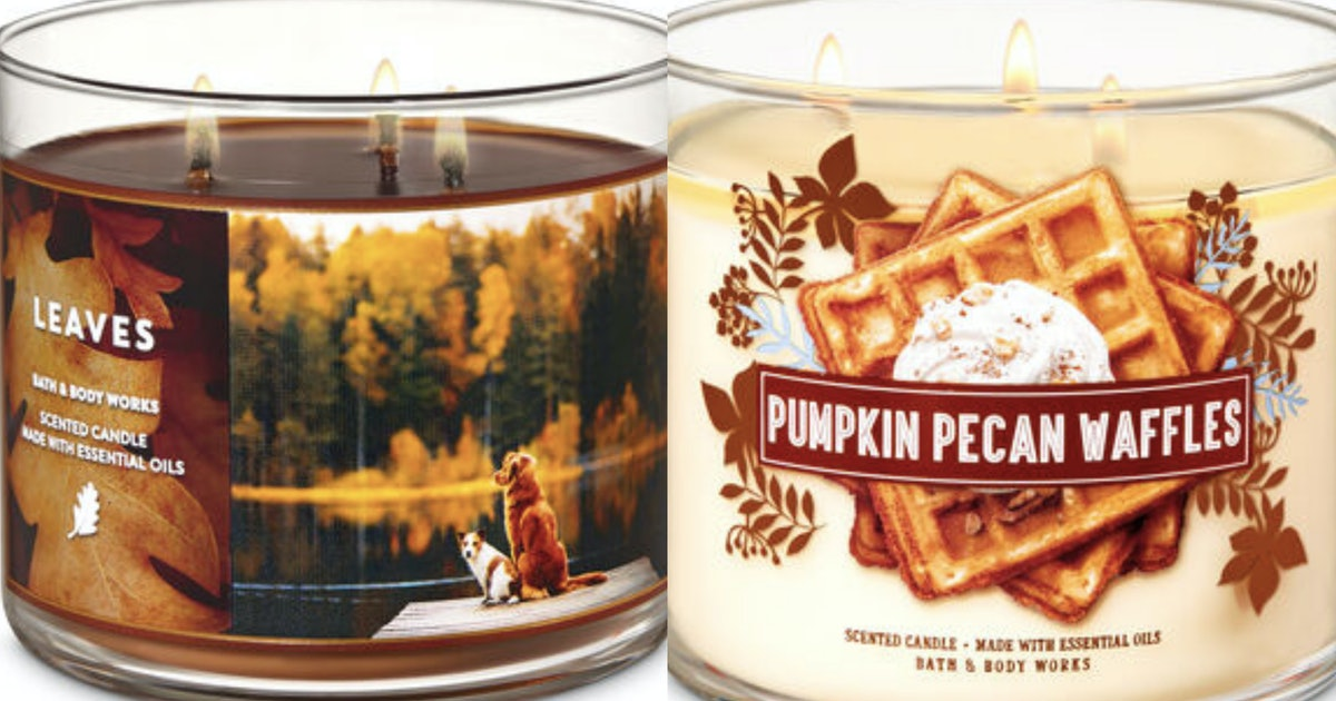 Bath & Body Works' Fall Candle Collection For 2019 Just Dropped Over 30 Scents