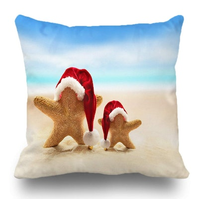 Batmerry Merry Christmas Theme Decorative Pillow Covers