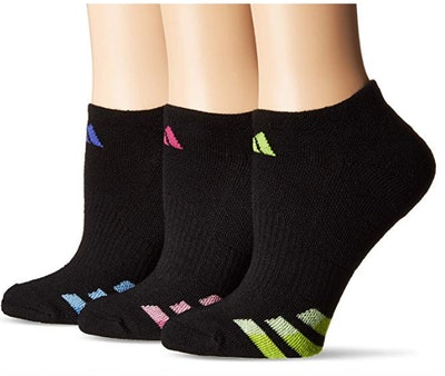 Adidas Women's Cushioned No Show Socks (3-Pack)