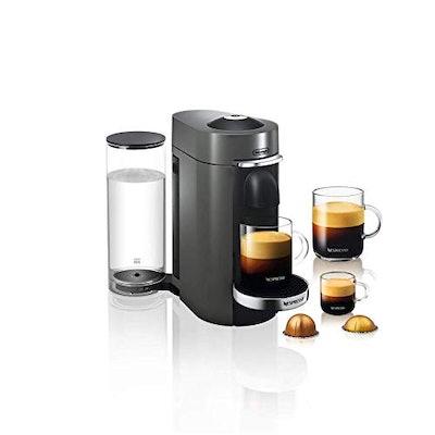 Nespresso VertuoPlus Deluxe Coffee and Espresso Maker