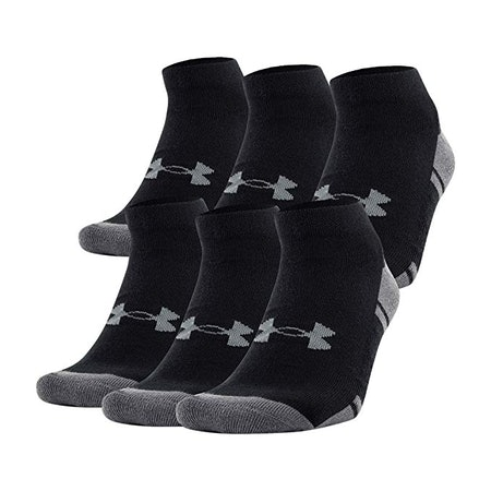 Under Armour Youth Resistor 3.0 Lo Cut Socks (6 Pairs)