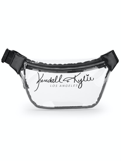 Kendall + Kylie for Walmart Clear Lucite Large Fanny Pack