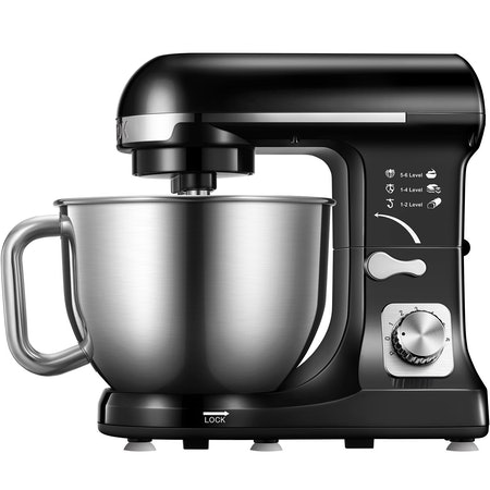 Stand Mixer With 5 Quart Stainless Steel Bowl